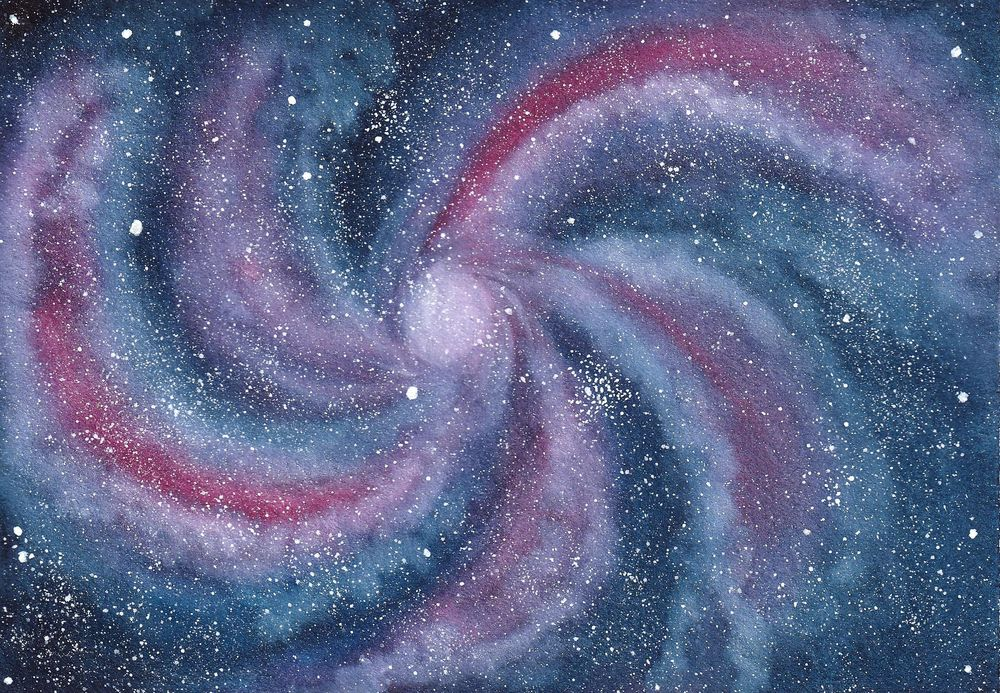 Watercolour Galaxies: Shapes - image 4 - student project