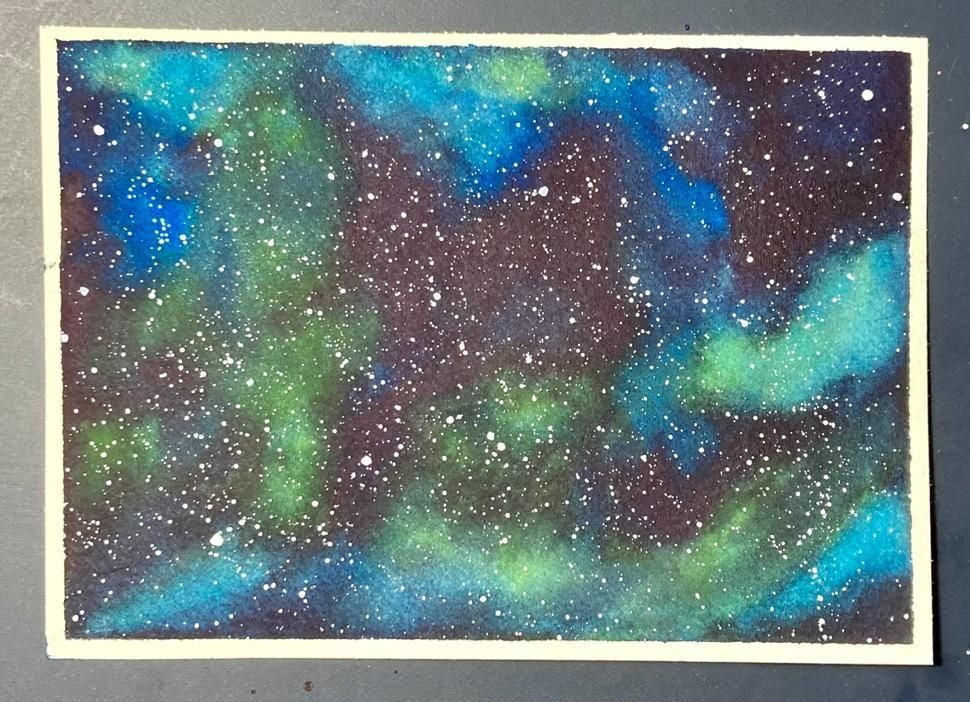 Galaxies - image 3 - student project