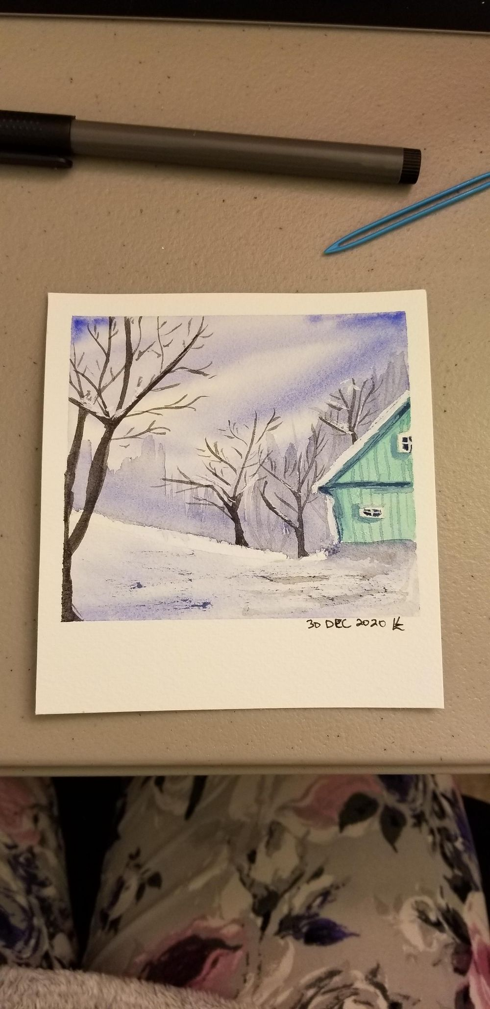 Lovely winter scenes - image 2 - student project