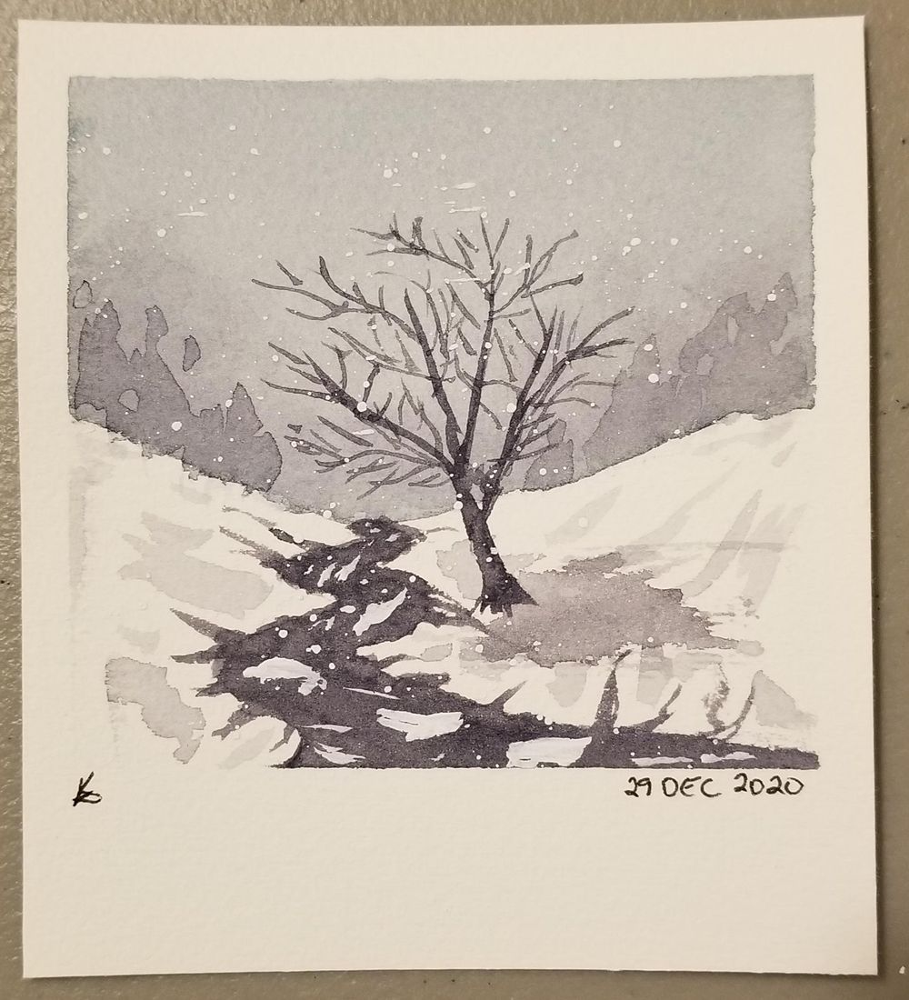 Lovely winter scenes - image 3 - student project