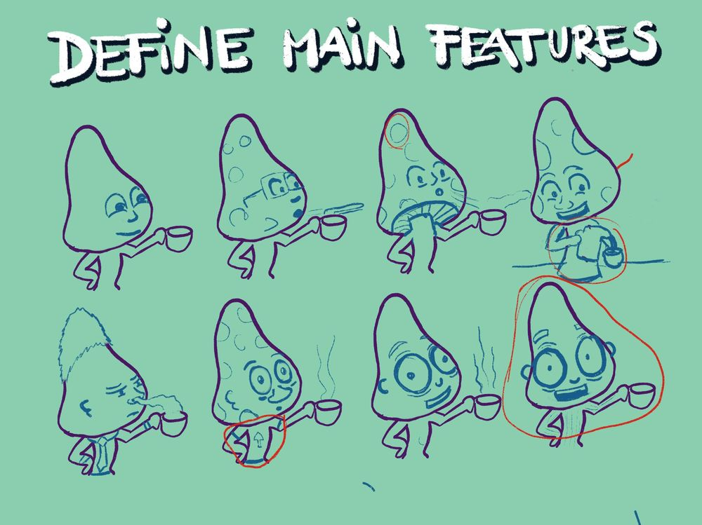 Character Design Class - image 3 - student project