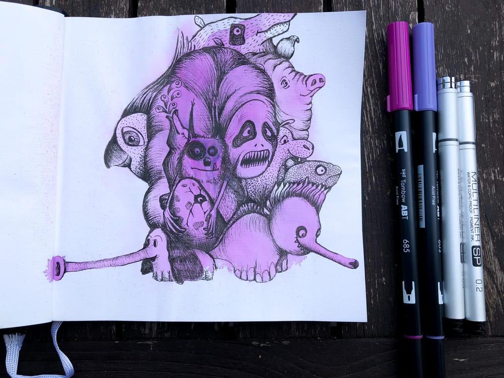 Fearless Art Jumpstart - image 7 - student project