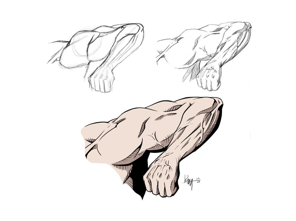 Dynamic Arm Poses - RM - 04/20 - image 1 - student project