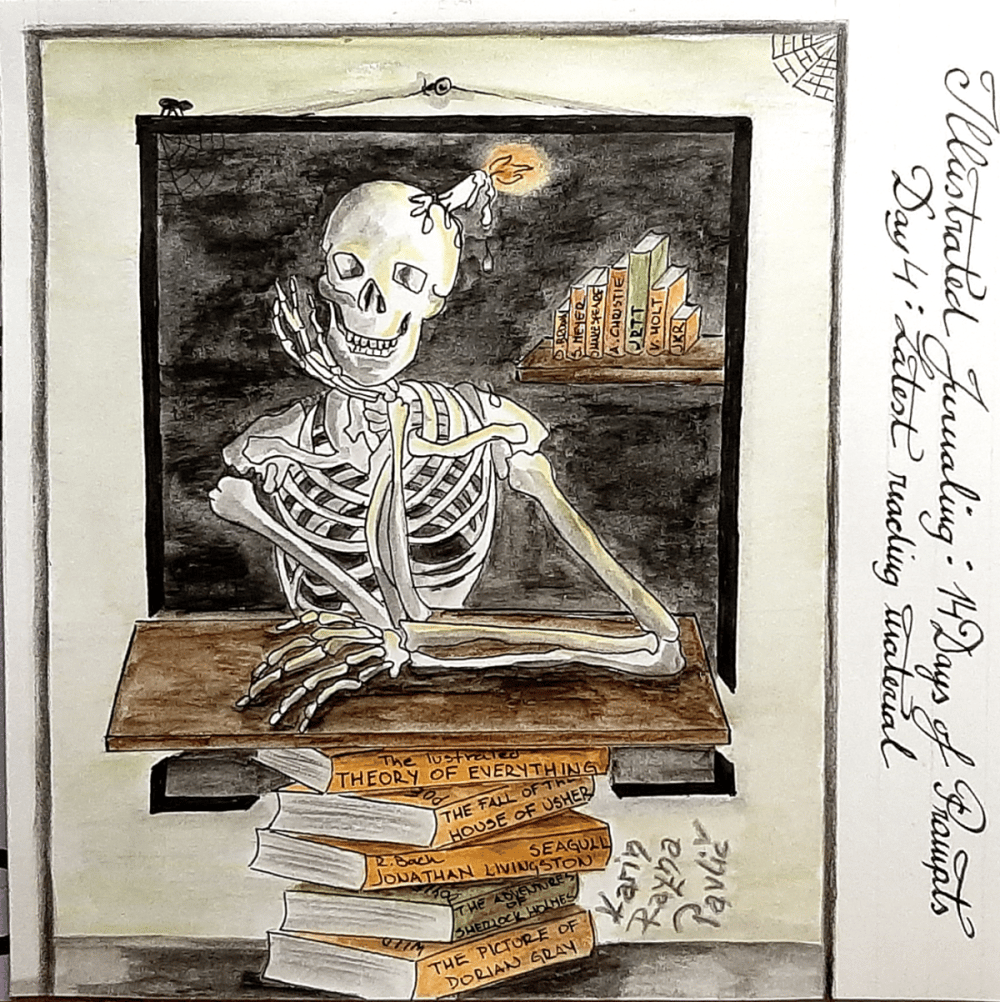 Illustrated Journaling - 14 Days of Prompts with Dylan Mierzwinski - image 3 - student project