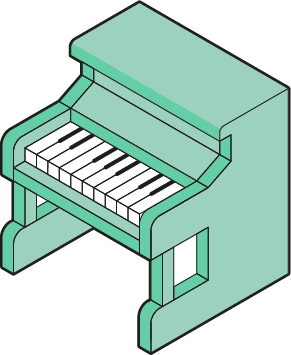 Iso piano - image 1 - student project