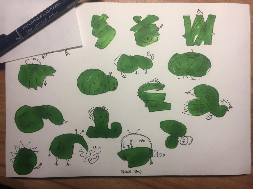 doodles for creativity - image 1 - student project