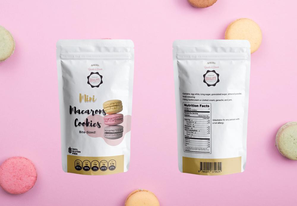 Mini Macaron Cookies - image 3 - student project