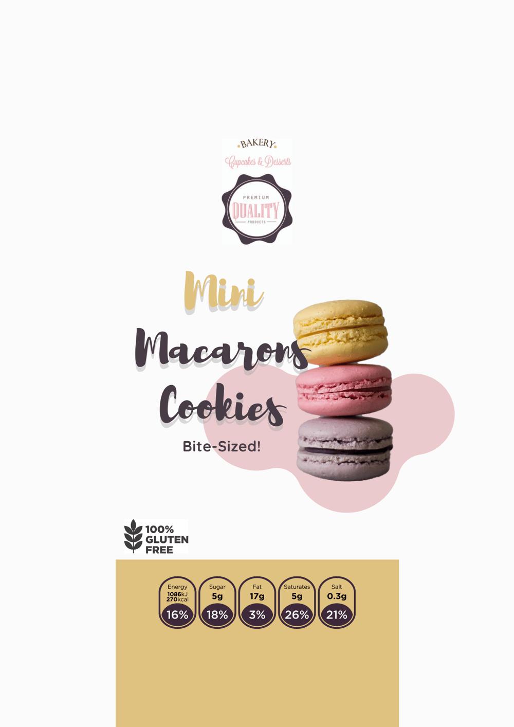 Mini Macaron Cookies - image 1 - student project