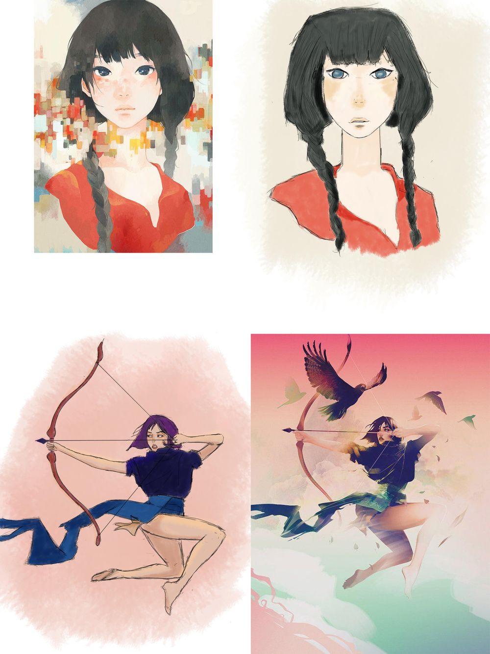 Kyoko Yoshii - Protagonist - image 2 - student project