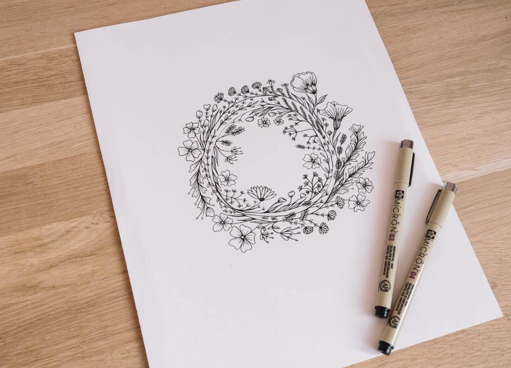 Botanic flowers  - image 4 - student project