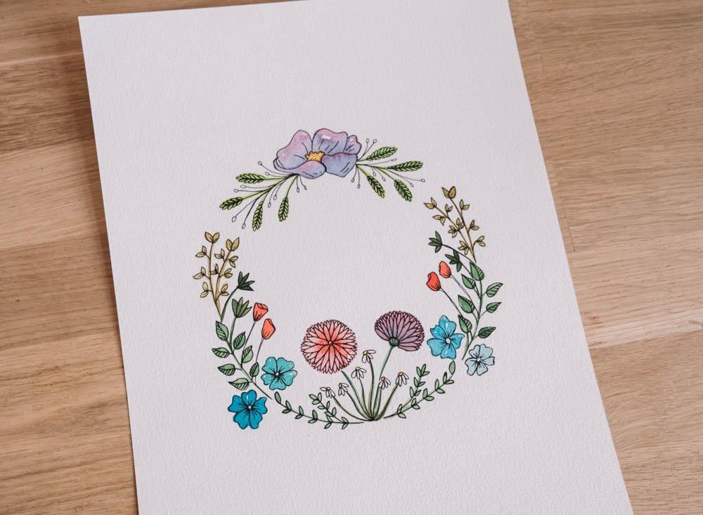 Botanic flowers  - image 6 - student project
