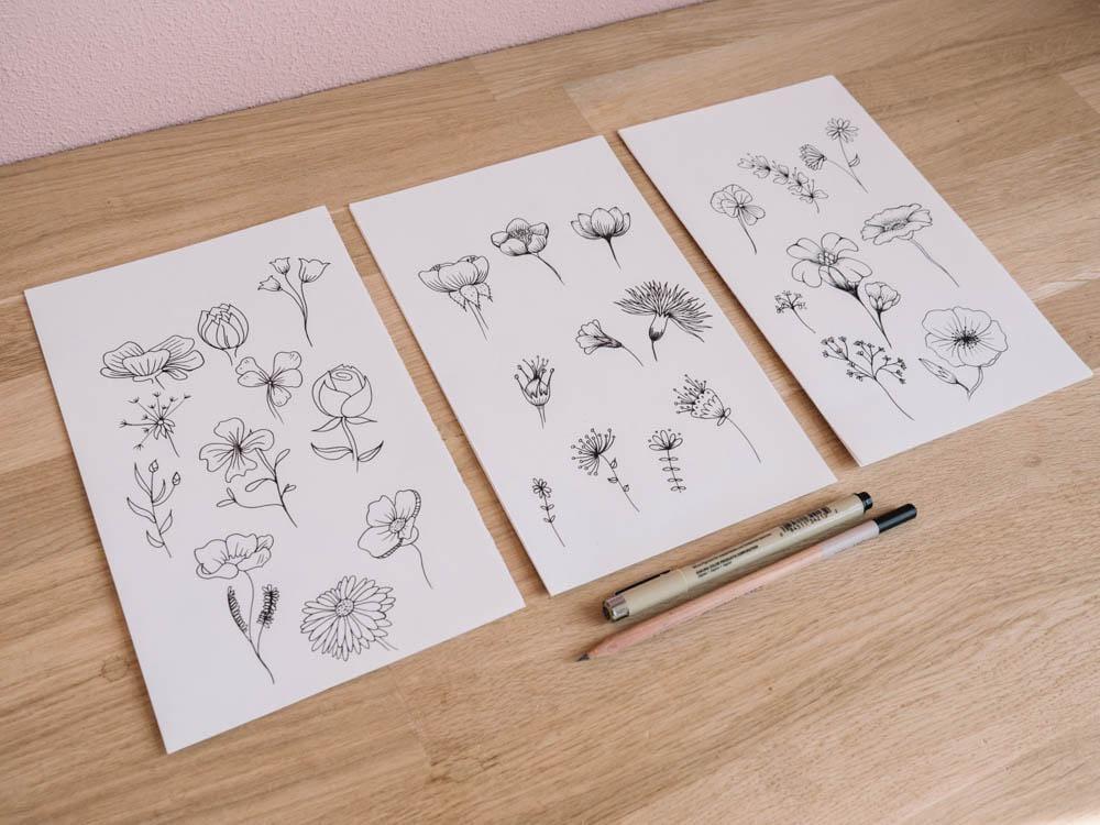 Botanic flowers  - image 2 - student project