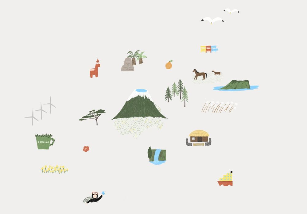 illustrated map by Dewy - image 3 - student project