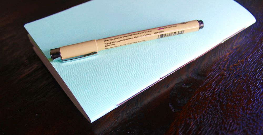 HOW TO MAKE A SADDLE STITCH JOURNAL - image 1 - student project