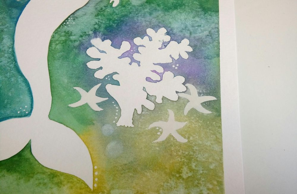 Watercolor & Mixed Media - image 4 - student project