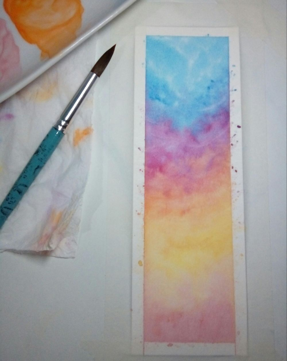 Watercolor skies - image 1 - student project
