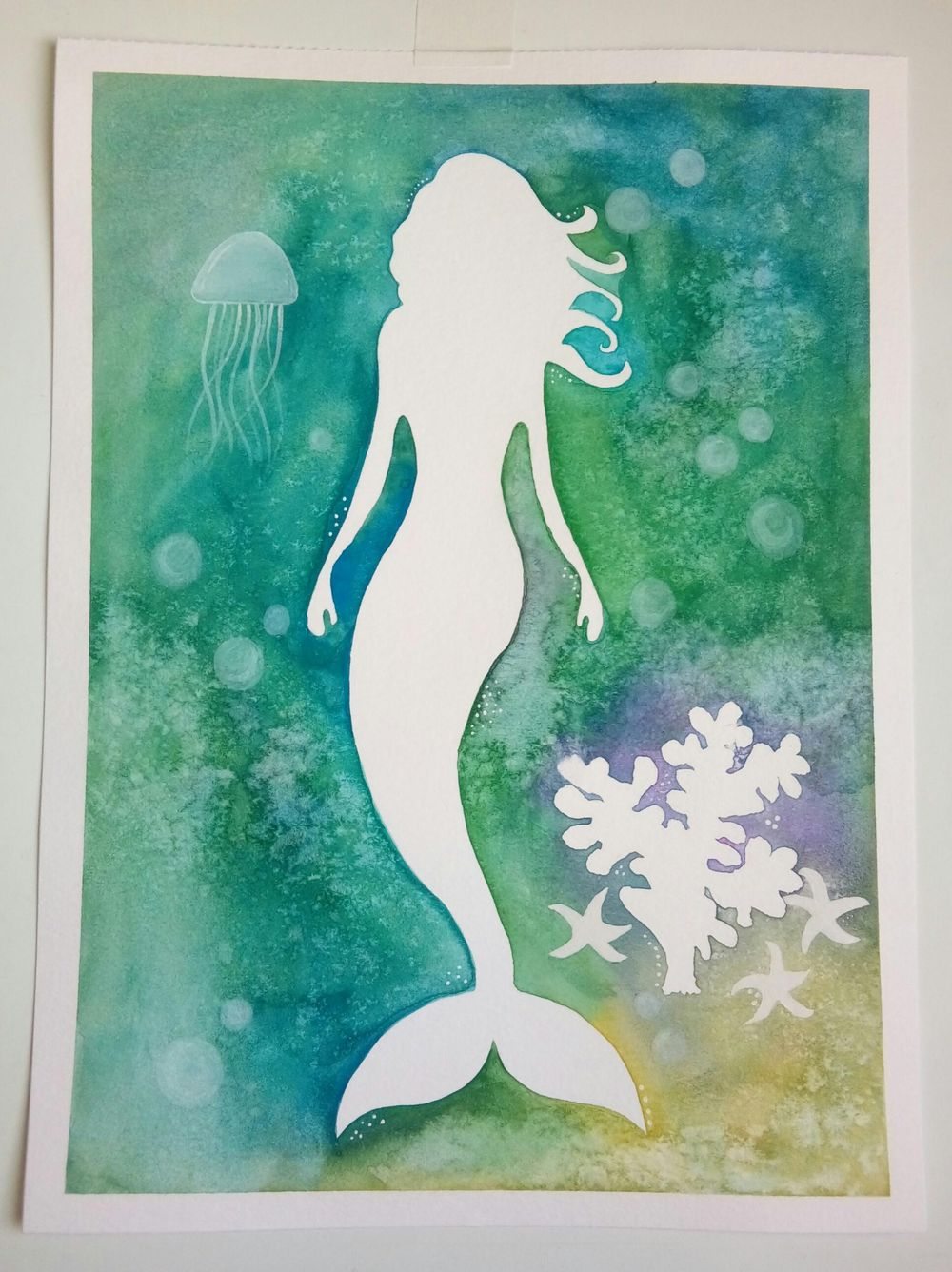 Watercolor & Mixed Media - image 1 - student project