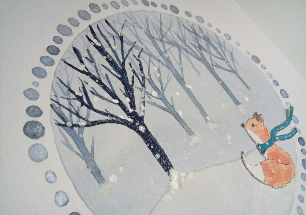 Winter Illustrations - image 2 - student project
