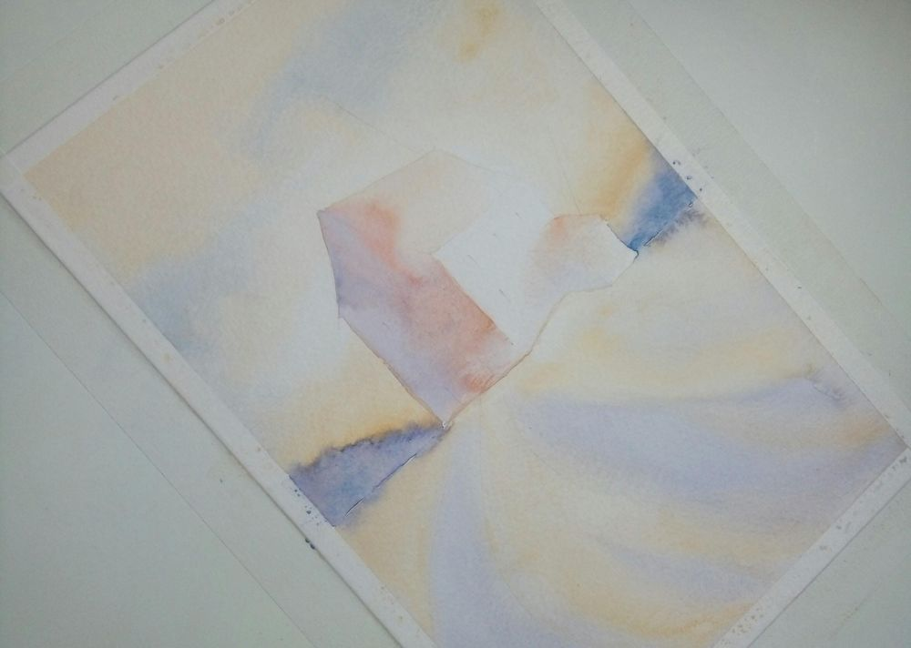 Lights and Shadows in Watercolor - image 3 - student project
