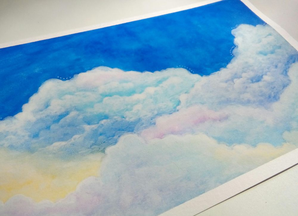 Watercolor & Mixed Media - image 5 - student project