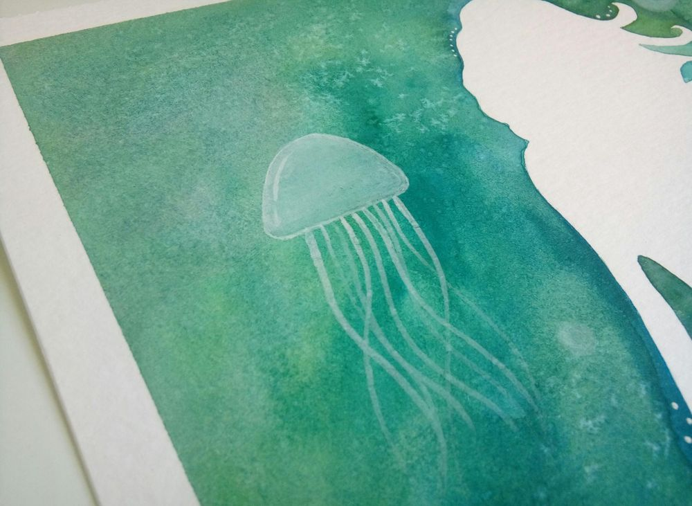Watercolor & Mixed Media - image 2 - student project