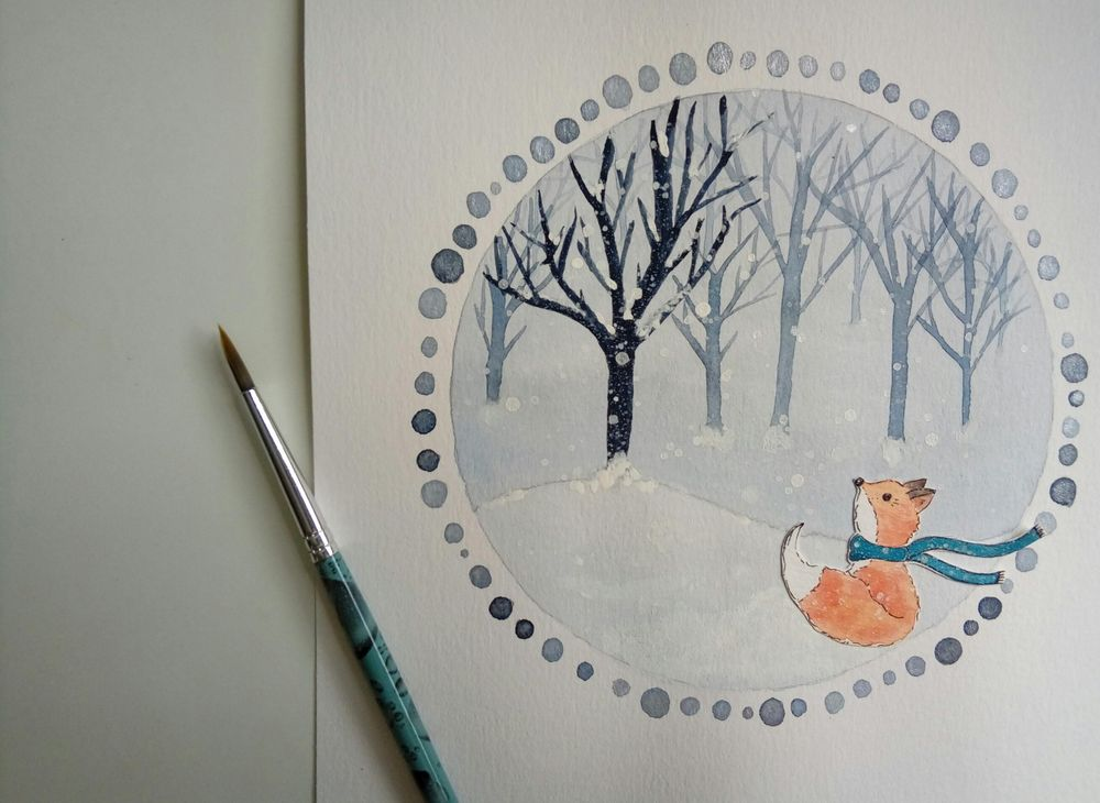 Winter Illustrations - image 1 - student project