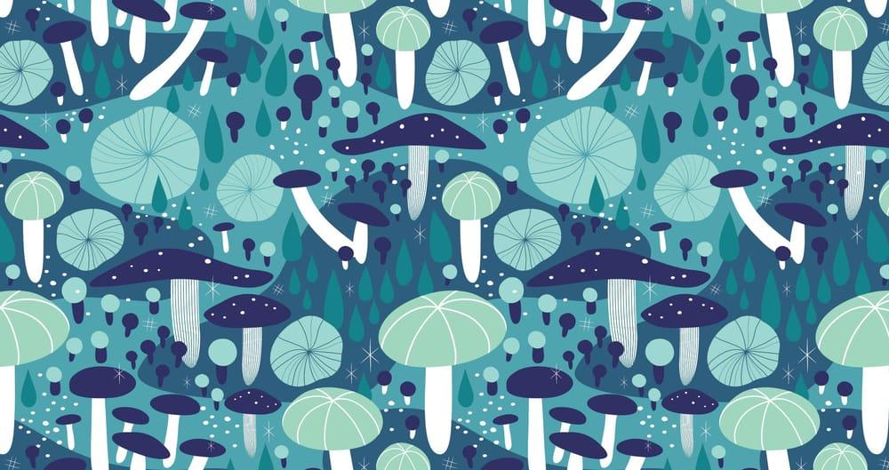 Midnight Mushrooms - image 4 - student project