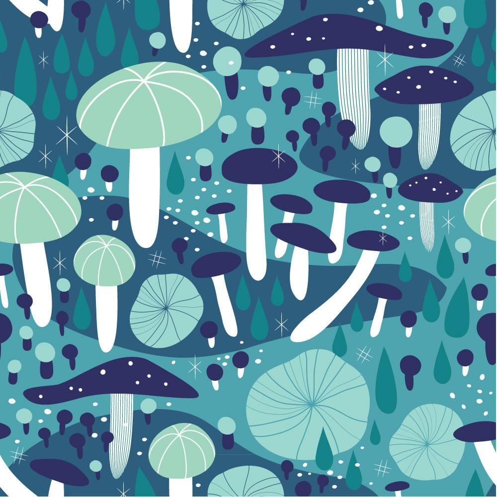Midnight Mushrooms - image 3 - student project