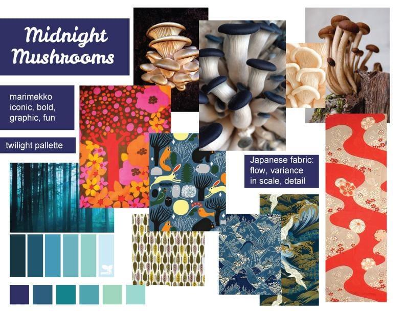 Midnight Mushrooms - image 5 - student project