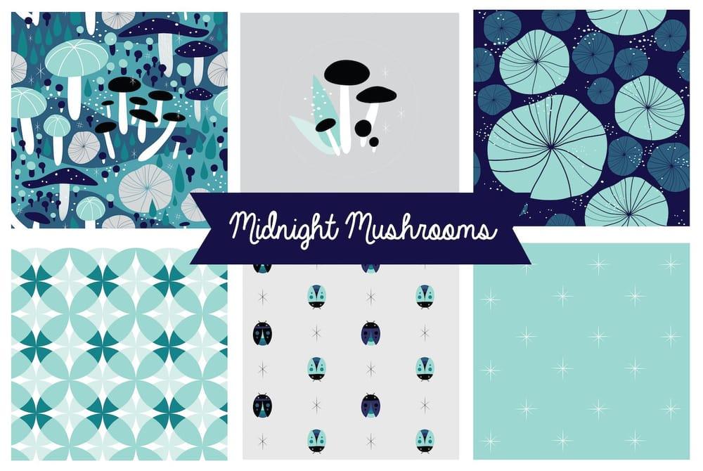 Midnight Mushrooms - image 1 - student project