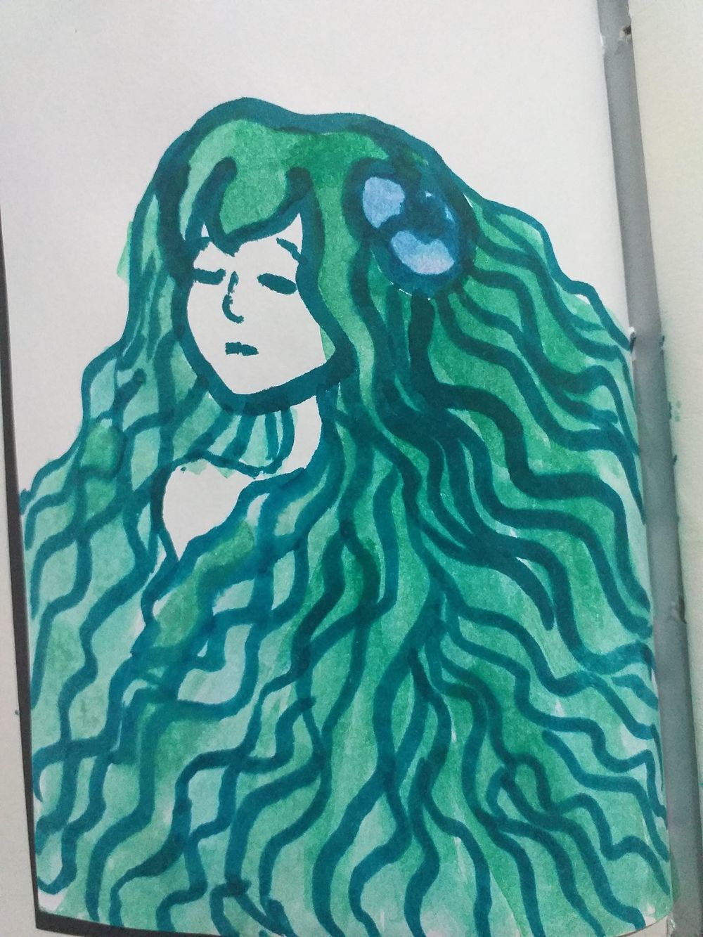 Fearless Art Jumpstart - my own paintings for the 14-days drawing challenge - image 3 - student project