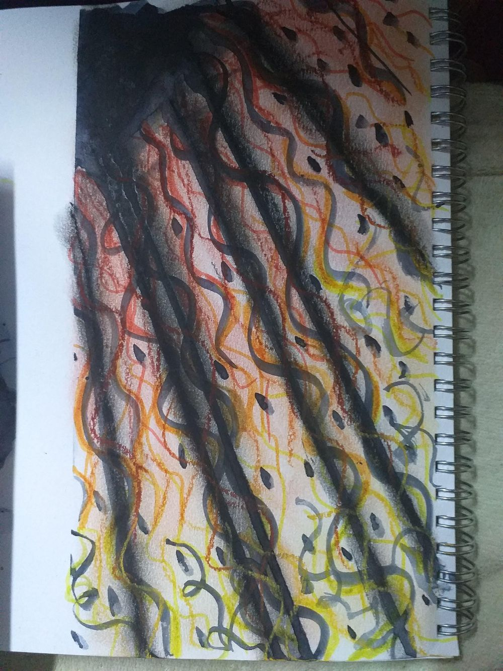 Fearless Art Jumpstart - my own paintings for the 14-days drawing challenge - image 6 - student project