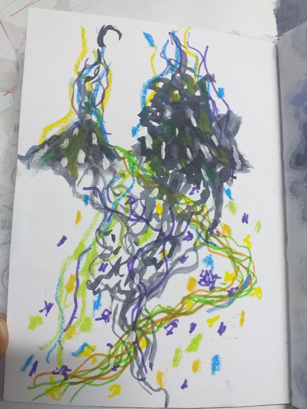 Fearless Art Jumpstart - my own paintings for the 14-days drawing challenge - image 8 - student project