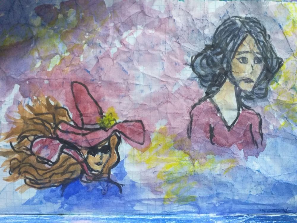 Fearless Art Jumpstart - my own paintings for the 14-days drawing challenge - image 2 - student project