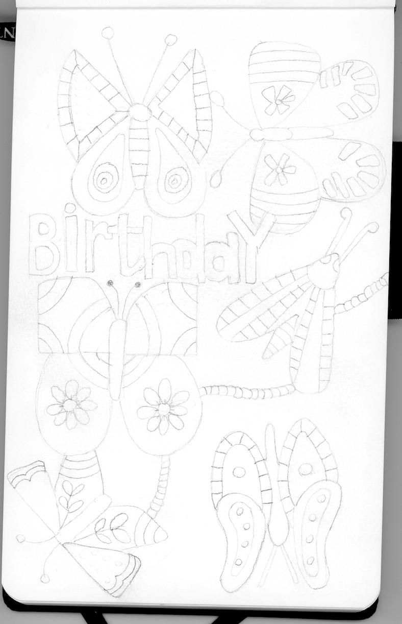 Birthday Butterfly - image 1 - student project