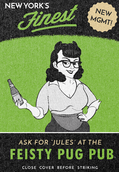 Barkeeper Jules - image 1 - student project