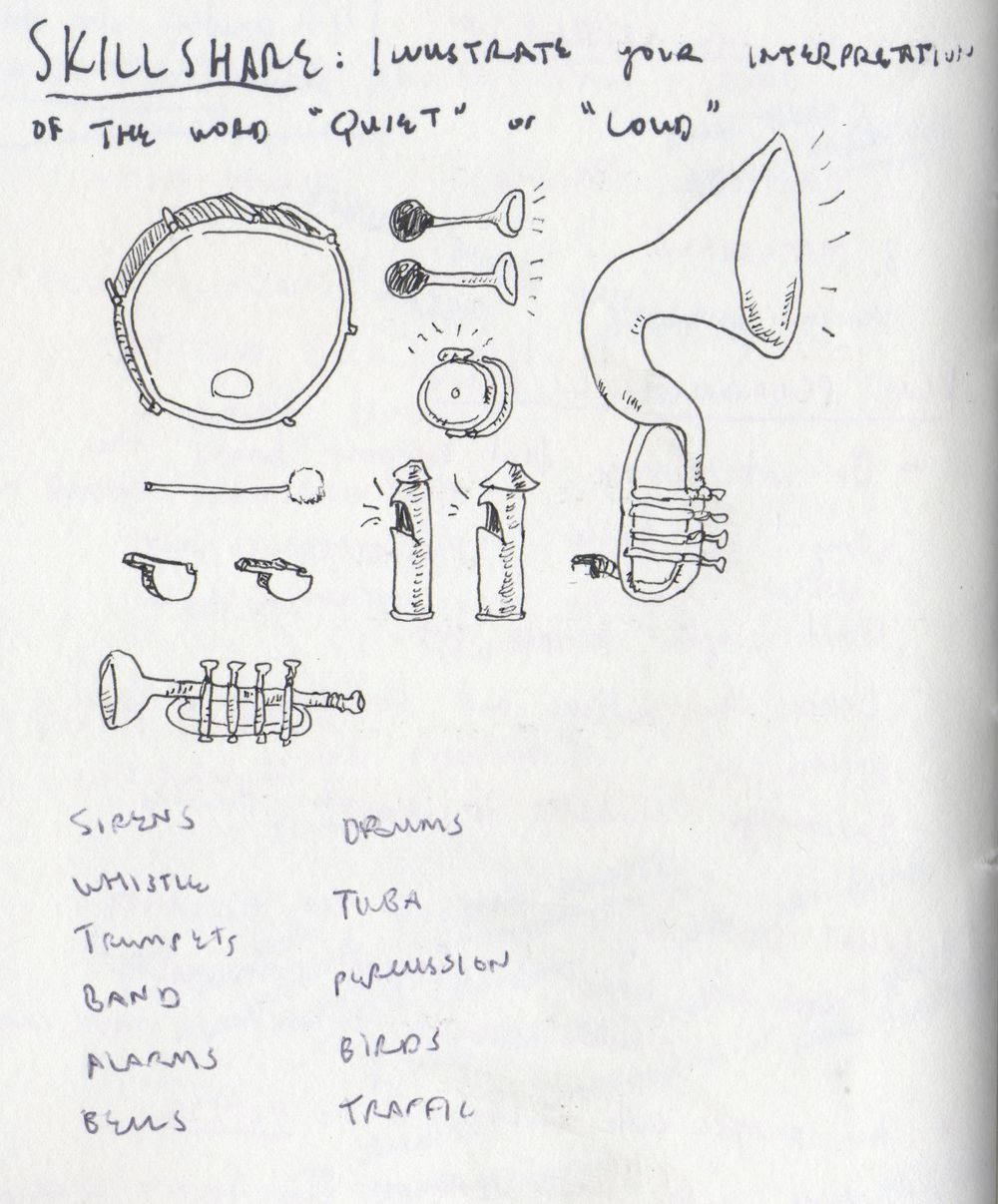 """""""Loud"""" Sketches (updated!) - image 5 - student project"""