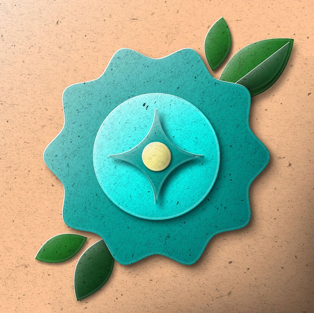 Papercut Flower feat. Fugstrator style - image 1 - student project