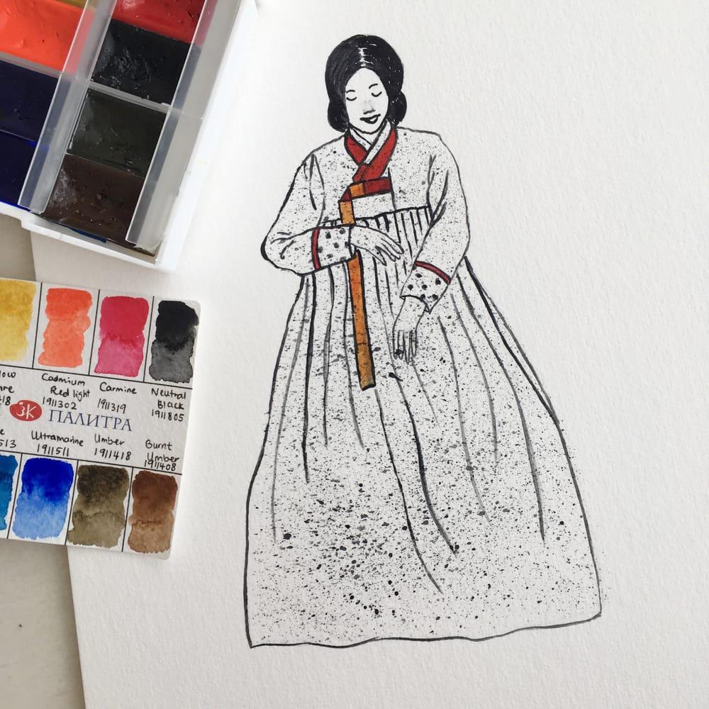 Fashion Illustration - image 2 - student project