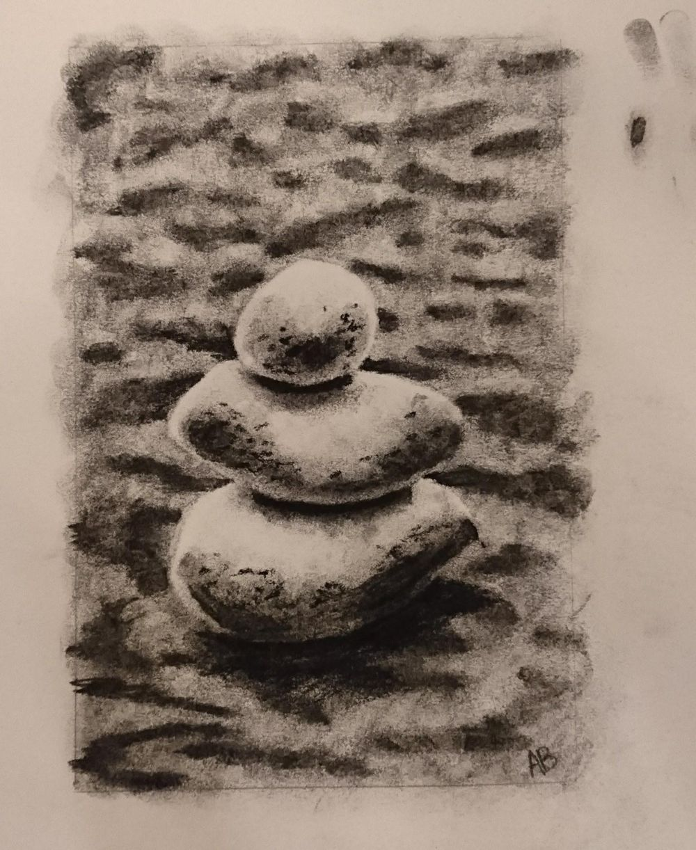 Rocks on Sand - image 1 - student project
