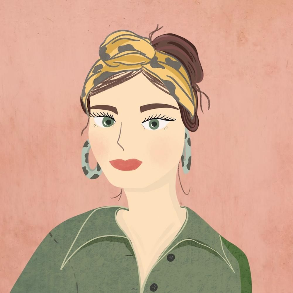 My Finished Stylised Portrait - image 1 - student project