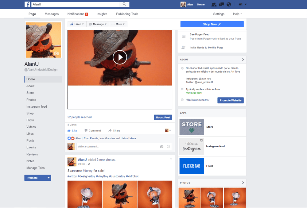 My facebook - image 1 - student project