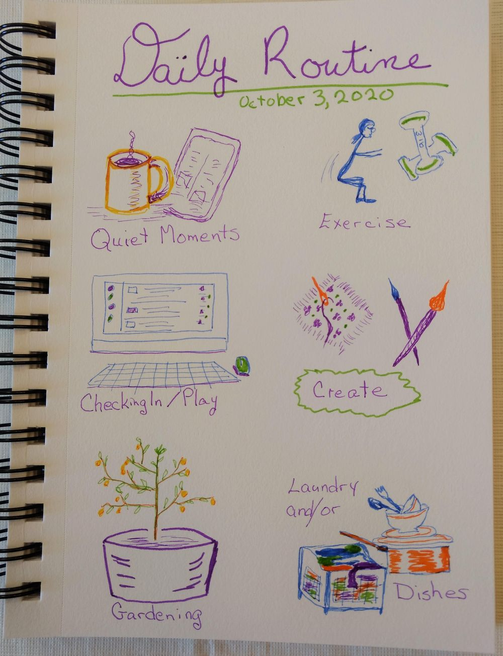 Creating a habit. Maybe ;) - image 9 - student project