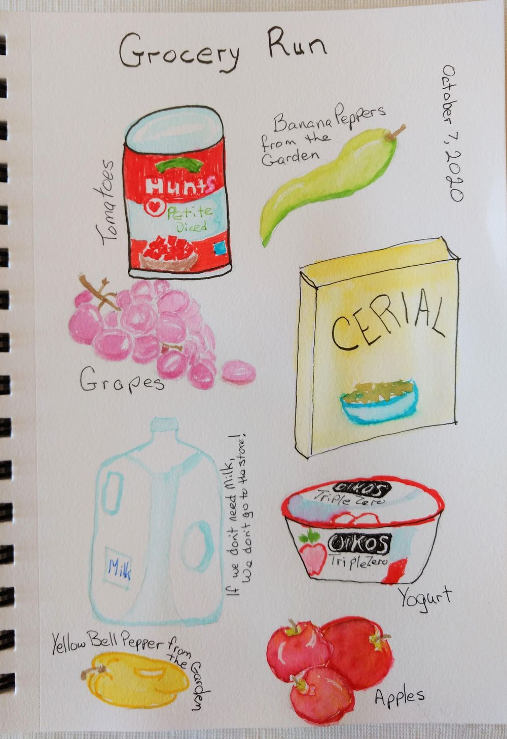 Creating a habit. Maybe ;) - image 5 - student project