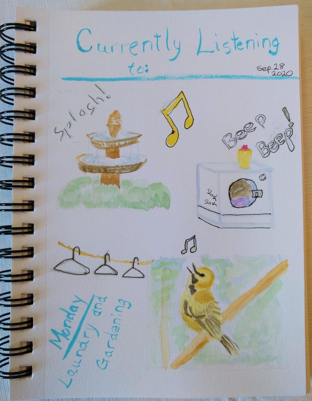 Creating a habit. Maybe ;) - image 14 - student project