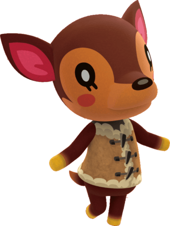 Fauna from Animal Crossing! - image 1 - student project