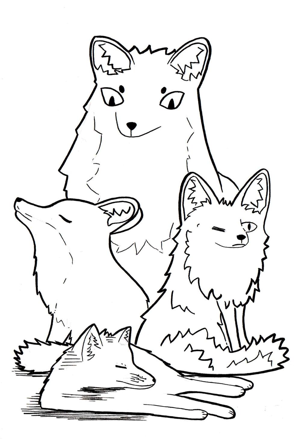 Fox Stylization - image 1 - student project
