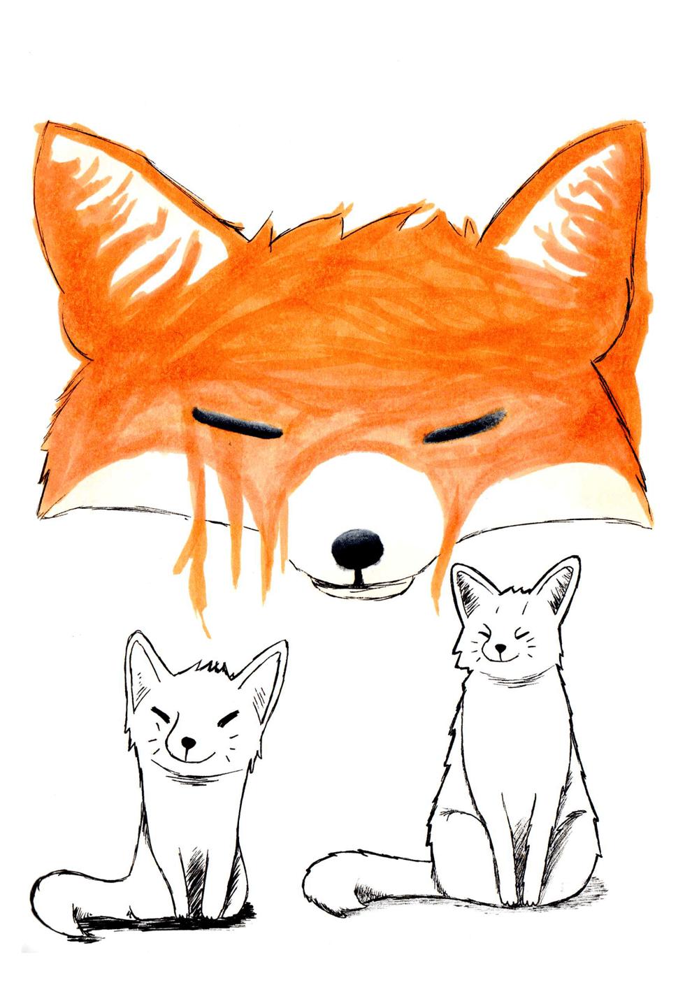 Fox Stylization - image 3 - student project