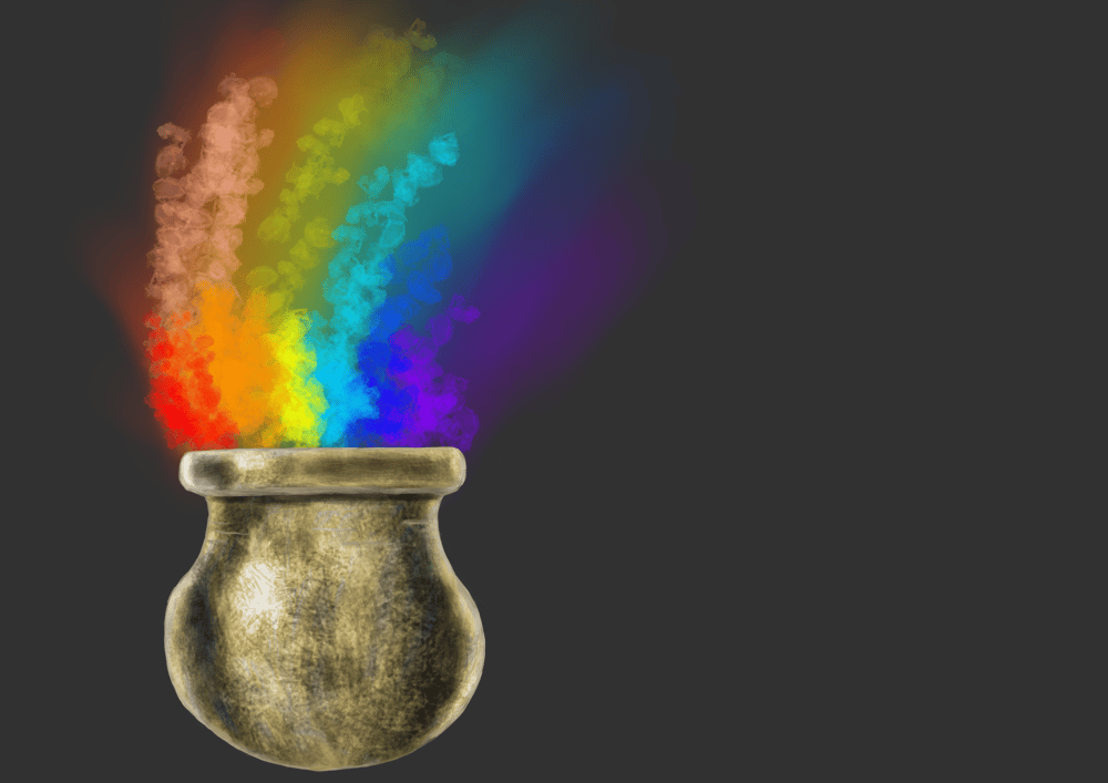 Gold pot - image 1 - student project