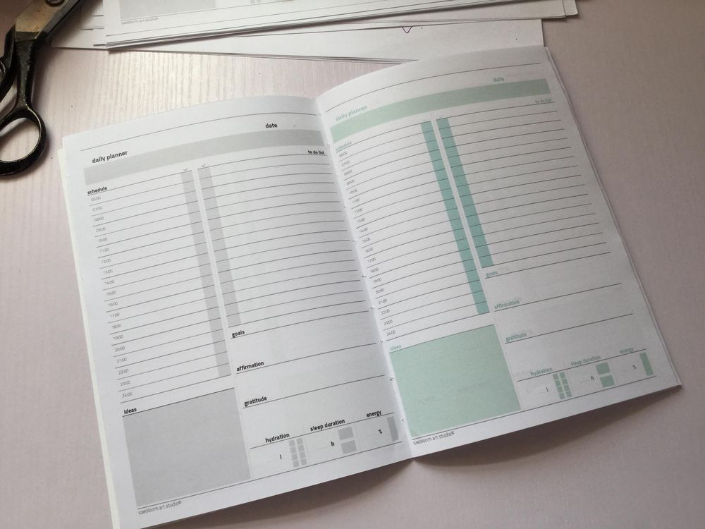 Daily planner - image 2 - student project